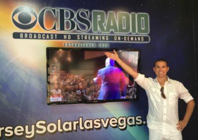 publicityMatt at CBS Radio Vegas