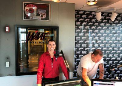 publicityMatt on WAAF Boston Radio