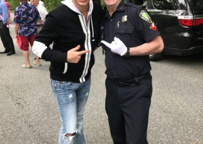 publicityMatt with Tony Lepore Dancing Cop